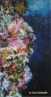 'Korallen', Öl auf Leinwand, 36x65, 2003, verkauft