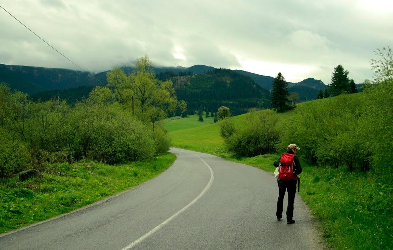 Szlak na Wyżnią Huciańską Przełęcz