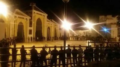 الطلبة الصحراويون بموقع اكادير يقدمون على خطوة تصعيدية.