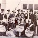 Pontiac Daily Press newspaper delivery men