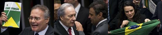 Senado aprova impeachment de Dilma Rousseff