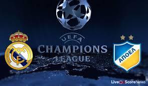 Real Madrid vs Apoel Nicosia Champions League Match Highlights