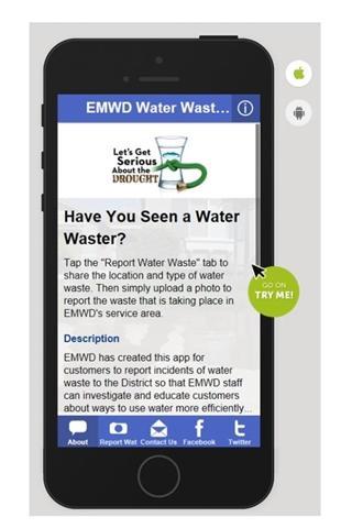 EMWD Water Waste Reporter