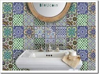 morrocan bathroom tiles