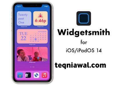 Widgetsmith - تطبيقات ايفون مجانية 2021