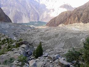 The Rakaposhi glacier