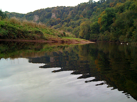 The view back to Symonds Yat gorge...