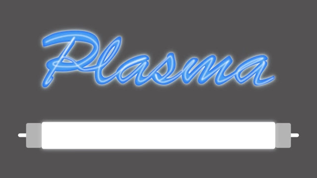 fluorescent light bulbs and neon signs are made of plasma