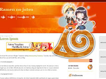 Anime Templates for Blogger: Ramen no jutsu