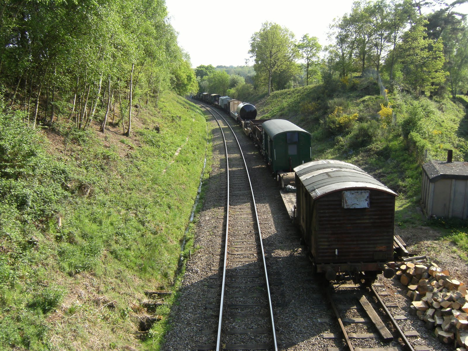DSCF7492 Spa Valley Railway sidings at Groombridge