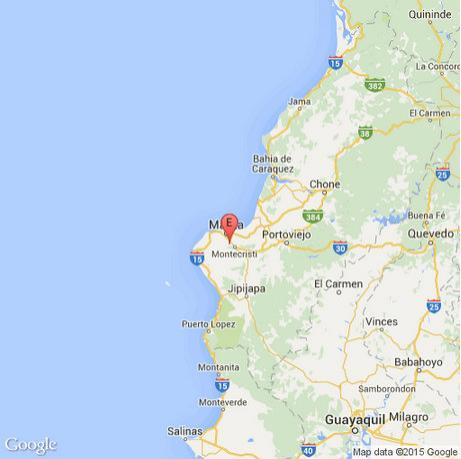 temblor en Manabí