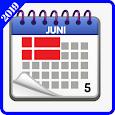 Dansk Kalender 2019 gratis