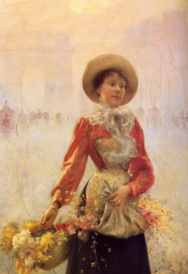Julius LeBlanc Stewart - Flower Girl