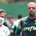 """De volta, Felipe Melo publica vídeo de gol em treino e avisa: """"Grandes coisas estão por vir"""""""