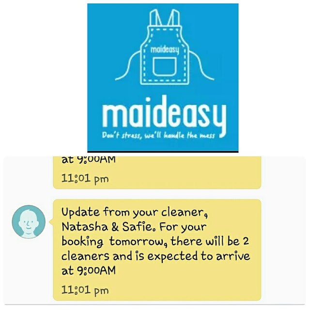Maideasy Part Time Maid Ringankan Beban Kemas Rumah