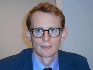 Le chef de mission adjoint à l'ambassade de Grande-Bretagne, Jon Lambe, mercredi 22 juillet à Kinshasa. Ph. Radio Okapi/Innocent Olenga