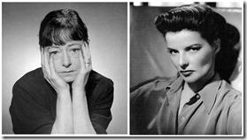 Dorothy Parker & Katherine Hepburn