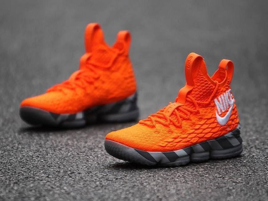 382a18ea420 ... Nikes First Orange Box Inspires the Latest Nike LeBron Watch 15s ...