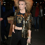 WWW.ENTSIMAGES.COM -     Tallia Storm   arriving at        Mondrian London - hotel launch party at Mondrian London October 9th 2014New London hotel, designed by Tom Dixon and owned by Morgans Hotel Group, hosts VIP evening to mark its launch on London's South Bank in the iconic Sea Containers building next to the OXO Tower. The hotel features 359 rooms and suites, a spa, meeting spaces, riverside bar and brasserie.                                                Photo Mobis Photos/OIC 0203 174 1069