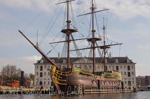 Amsterdam, Netherlands - ship
