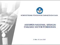 Asesmen Nasional Sebagai Evaluasi Sistem Pendidikan