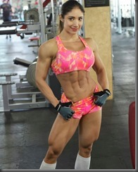 144671192182 - 01 - @sandragrajales_ifbbpro_ Tryng to be better than yestarday!!