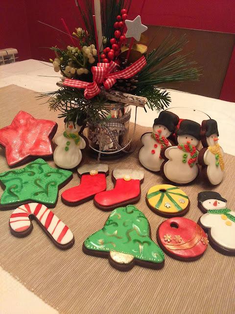cookies fondant, galletas de chocolate y fondant, galletas navideñas