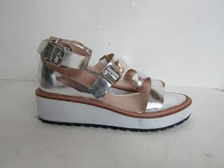 Loeffler Randall Metallic Sandals