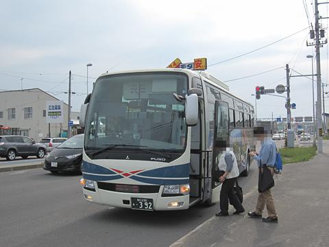 沿岸バス「特急はぼろ号」 ・392 萌えっ子はぼろ号 その11