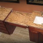 Rainforest Brown Vanity Top, Armstrong Cabinet 01.JPG
