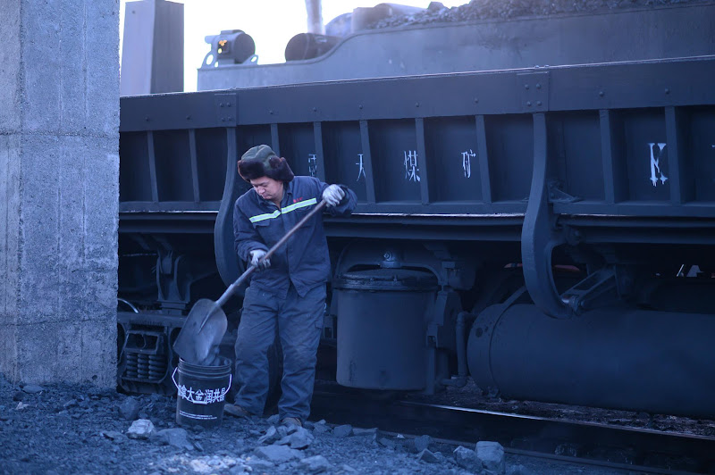 181231 こぼれた石炭の回収