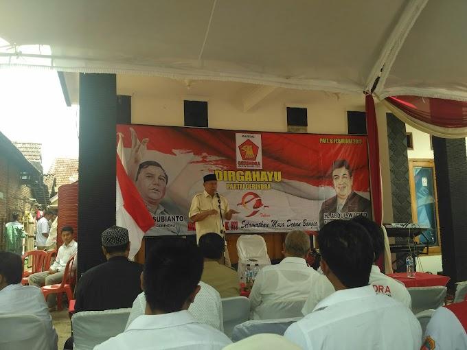 Dirgahayu Partai Gerindra Indonesia ke- 9