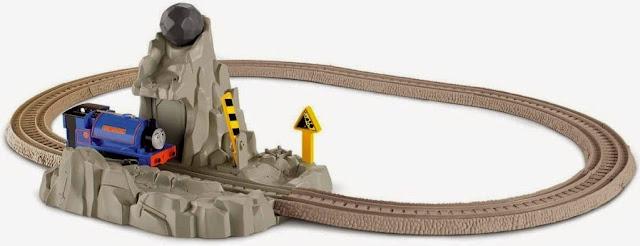 Bộ đồ chơi Tầu hỏa Handel vượt Núi đá Run Away Boulder thú vị hấp dẫn