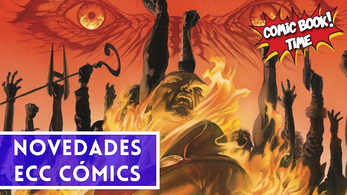 Novedades Ecc Cómics para junio 2021