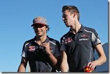 Carlos Sainz e Daniil Kvyat
