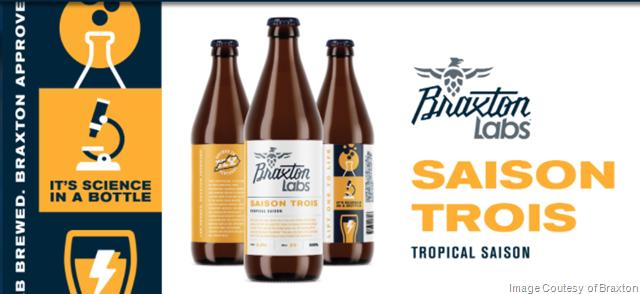 Braxton Labs Releasing Saison Trois Bottles