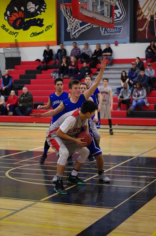Saskatoon Christian School Cougars vs. Bedford Road Redhawks