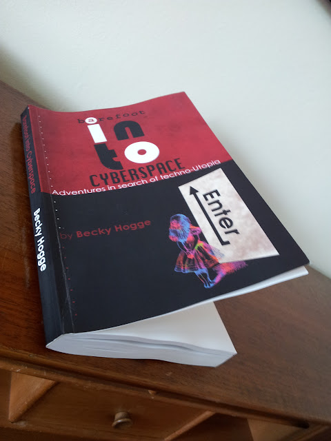 Proof copy of Barefoot into Cyberspace