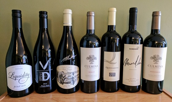 February 2017 BC wine collectibles