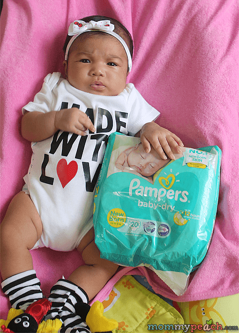 Get A Chance To Win P1 Million For Your Baby with Pampers Baby Dry