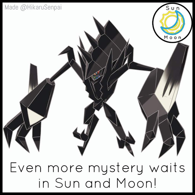 The Official Sun And Moon Site Shown The Image Of The Mysterious Black  Beast Previously Leaked In Corocoro Nothing Else Is Known