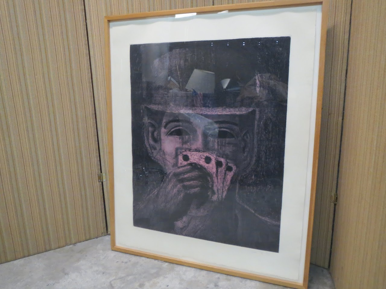 Aaron Fink Poker Player Etching