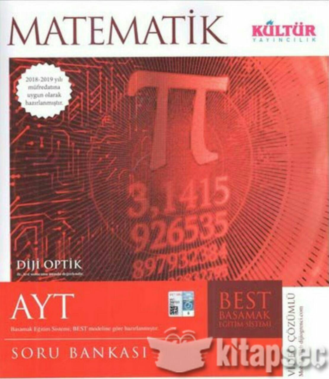 Kültür Yayınları AYT Matematik Soru Bankası