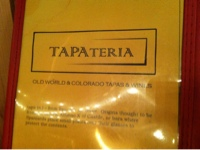 Gluten-Free Restaurant in Colorado Springs: TAPAteria