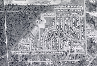 1963 Aerial Photo of Glenayre