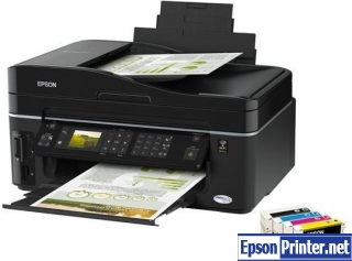 Get reset Epson TX610FW printer software