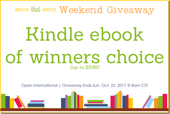 About That Story Weekend Giveaway