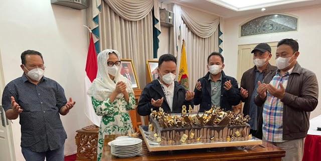 Milad ke-48 tahun, Gubernur Sugianto: Terima Kasih Doa Dari Masyarakat