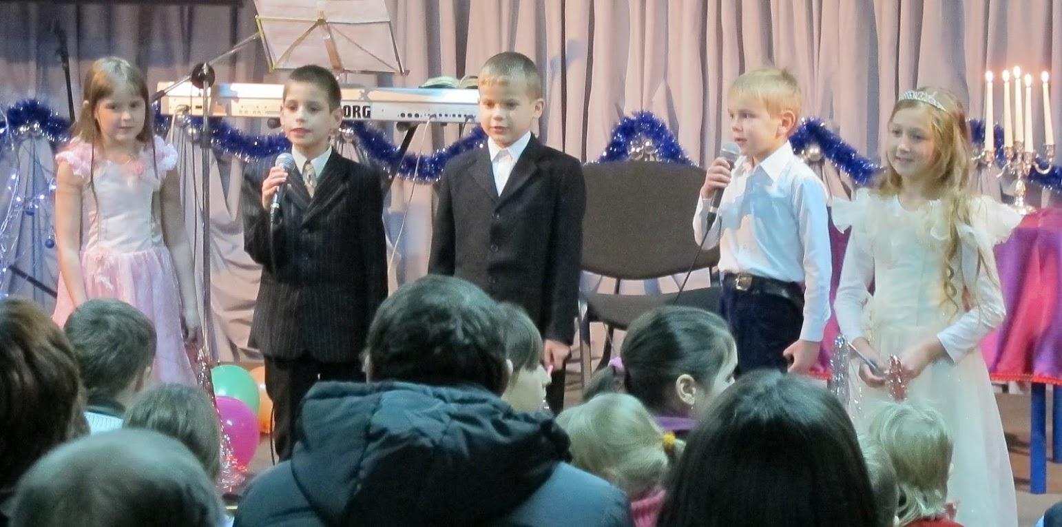 выступление воскресной школы