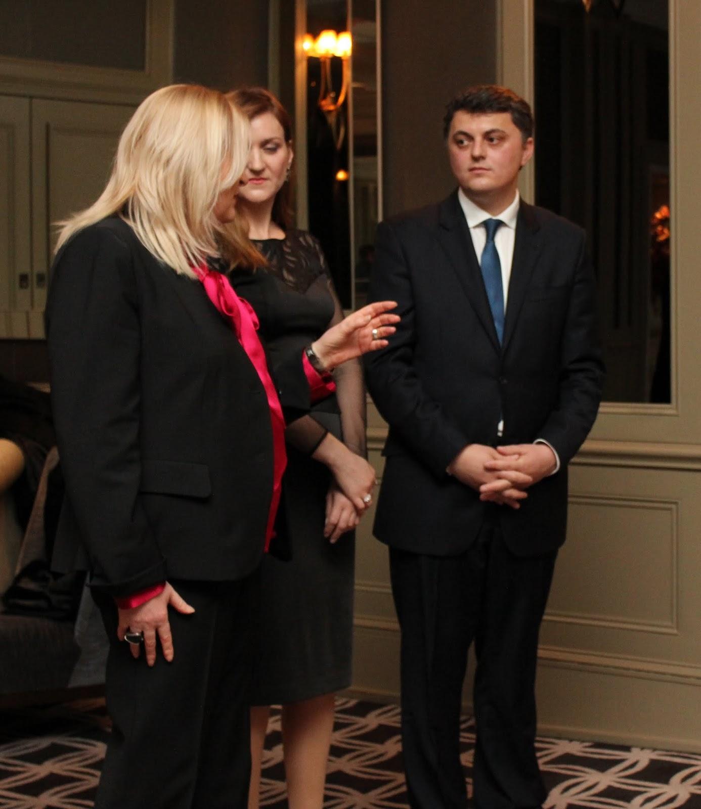 Festimi i 17 shkurtit 2013 ne Hotel Hyatt, Londer. Organizuar nga Ambasada e Kosoves.